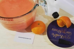 When someone asks to make them orange hand soap with pure uplifting aroma of sweet and sunny freshly peeled oranges... everything is possible!